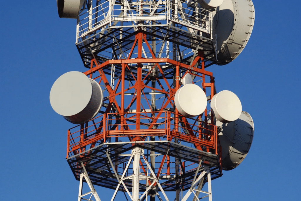 Microwave Tower Antenna Replacement