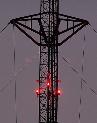 Obstruction Light Replacement Lighting Tower System