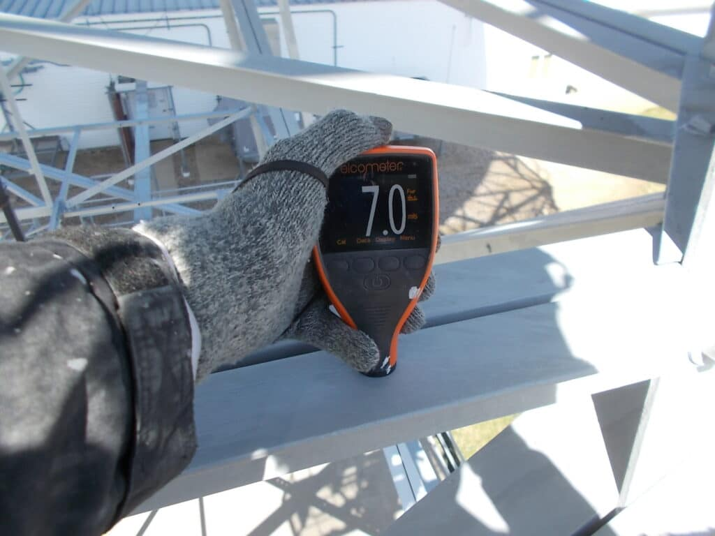 Using An Elcometer to Measure Paint Thickness
